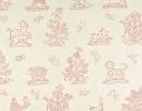 Beasties pink on cotton sateen