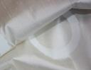 Hoop La, cream on cream silk dupion