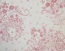 Gerlinda pink on cotton sateen