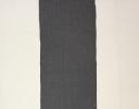 Modern Stripe charcoal on cotton