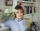 Celia in Linden Gardens c1970s