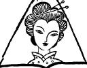 Geisha Girl logo