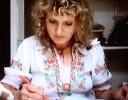 Celia working c1970s