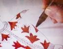 Celia drawing 'Little Rock'