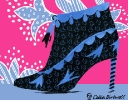 Little Rock shoe for Marie Claire anniversary